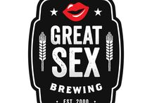 Great Sex Brewing Stickers / Represent Great Sex Brewing with these awesome, creative, eye-catching and funny stickers!