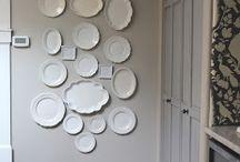 piatti su parete