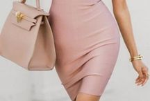 blush dress ideas