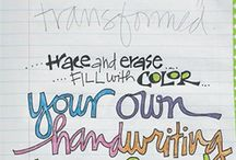 Hand-Lettering and Doodling