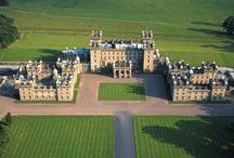 Floors Castle, Kelso / Floors Castle in Kelso is the perfect place for an exclusive wedding or top end corporate event. #scottish #wedding