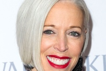 I Love My Grey Hair! / Are you 40, 50 or more and thinking of going grey,  but need a little inspiration? The take a look at these silver foxes! / by Fabulous After 40 - Deborah Boland