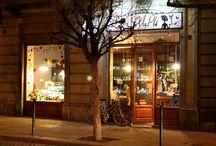 il negozio / Un pò d'immagine del nostro angolino di Francia
