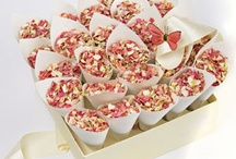 Natural Wedding Confetti and favours