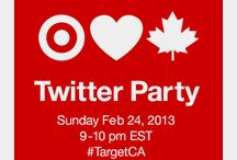 Target Canada Twitter Party