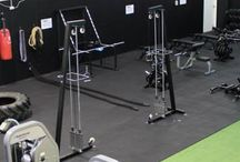 The gym (HAMMRR FITNESS)