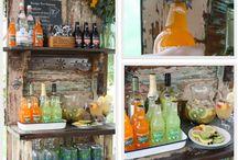 Vintage sodas