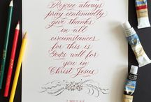Calligraphy christianity