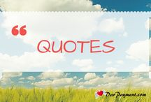 Quotes / Some inspiring and powerful quotes to help you live a fun and fulfilled intuitive life.