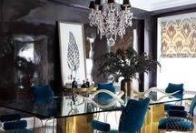 Glossy wall / Interior design