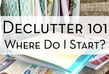 Too Much Stuff / De-cluttering is not impossible.  These helpful pins can help you do it.