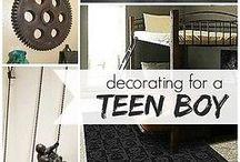 teen boy decor