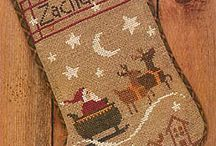 Cross stitches winter & christmas