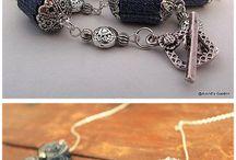 gioielli con materiali diversi