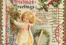 Vintage jul - Christmas