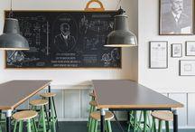Caffe shop interiors