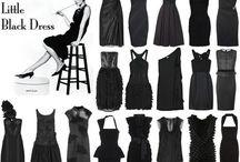 little black dress / lovely dresses