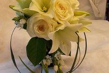 WEDDING FLOWERS, HÄÄT / Kuvia morsiuskimpuista, vieheistä, hääkoristelusta. Wedding bouquets
