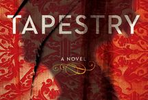 Covers of The Tapestry / The third book in the Joanna Stafford trilogy will be published March 24, 2015