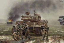 War Machines Paintings