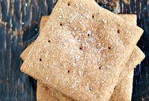 Knækbrød m æble og kanel / Brød