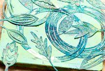 Monoprint-Art