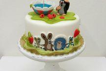 1. narozeniny dort