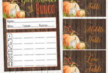 Bunco ideas