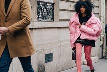 #pink #rosa / #pink #rosa #trend #2017 #women #over40 #40s #kombinieren #outfits #jeans #denim