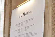 메뉴판 커피숍
