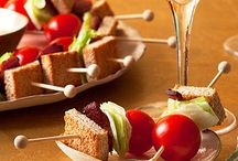 Appetizer recipes / by Mary Fillinger