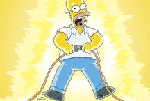 Simpsons Safety Posters / Safety is no laughing matter