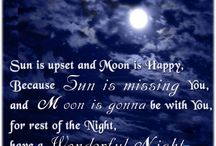 Good Night Quotes / To send beautiful and short Good Night Messages to your friends and family and keep getting love from them. Good Night SMS, Images is the best way to impress your lovable ones from here.