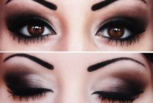 maquillaje ojos oscuros