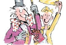 Whipple-scrumptious Quentin Blake prints / Celebrate 50 years of Roald Dahl's Charlie and the Chocolate Factory in 2014 with these beautiful limited-edition prints / by Roald Dahl