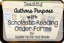 Reading:  Author's Purpose