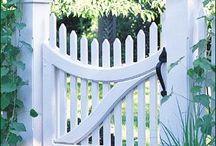 Garden gates - wooden
