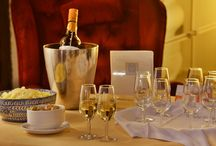 Complimentary sherry wine!! Every evening