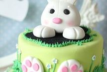 mes créations de gâteaux. de paques