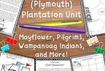 Teaching Roanoke, Jamestown, and Plymouth
