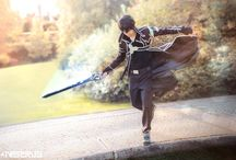 """Kirito Cosplay - Sword Art Online / Kirito Cosplay - Sword Art Online  made by me #inserius  fell free to follow my cosplay page:  https://www.facebook.com/inserius/  """"In this world, a single blade can take you anywhere you want to go. And even though it's a virtual world, I feel more alive in here than I ever did in the real world"""" -Kirito"""