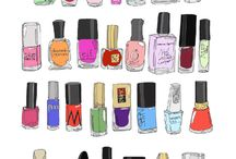 Nail polish drawings / Nail polish drawings
