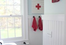 kids bathroom / by Catherine Cook