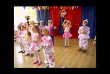 Tańce na różne okazje w przedszkolu