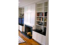 SHELVES & CABINETS /  Put those difficult spaces to good use with attractive and useful shelving solutions!!