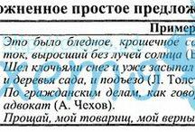Синтаксис и пунктуация / 8 класс