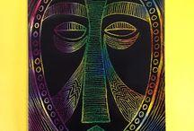 masky lidí