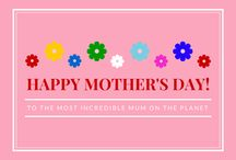 Mother's Day Gift Idea's / A huge collection of lovely gift's for a very special person of our life, Angel on earth. Our lovely Mother :)