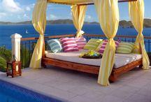 Backyard/patio/deck / by Michelle Fedele