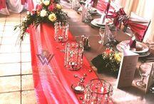 Mályva színű dekor / Esküvői dekoráció www.dekowest.hu